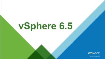 vSphere 6.5 - Logo