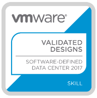 VMware VVD (VMware Validated Design) 2017 - Badge