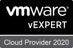 VMware vExpert Cloud Provider 2020 - Badge