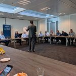 "Dutch VMware vExperts joined together for a meal and a good session about ""How to become more influential"" by Amy Lewis"