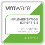 VMware VCIX6.5-DCV Badge