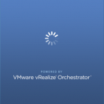 vRealize Orchestrator Client - Launch Screen