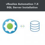 vRealize Automation SQL Database Installation - Featured Image
