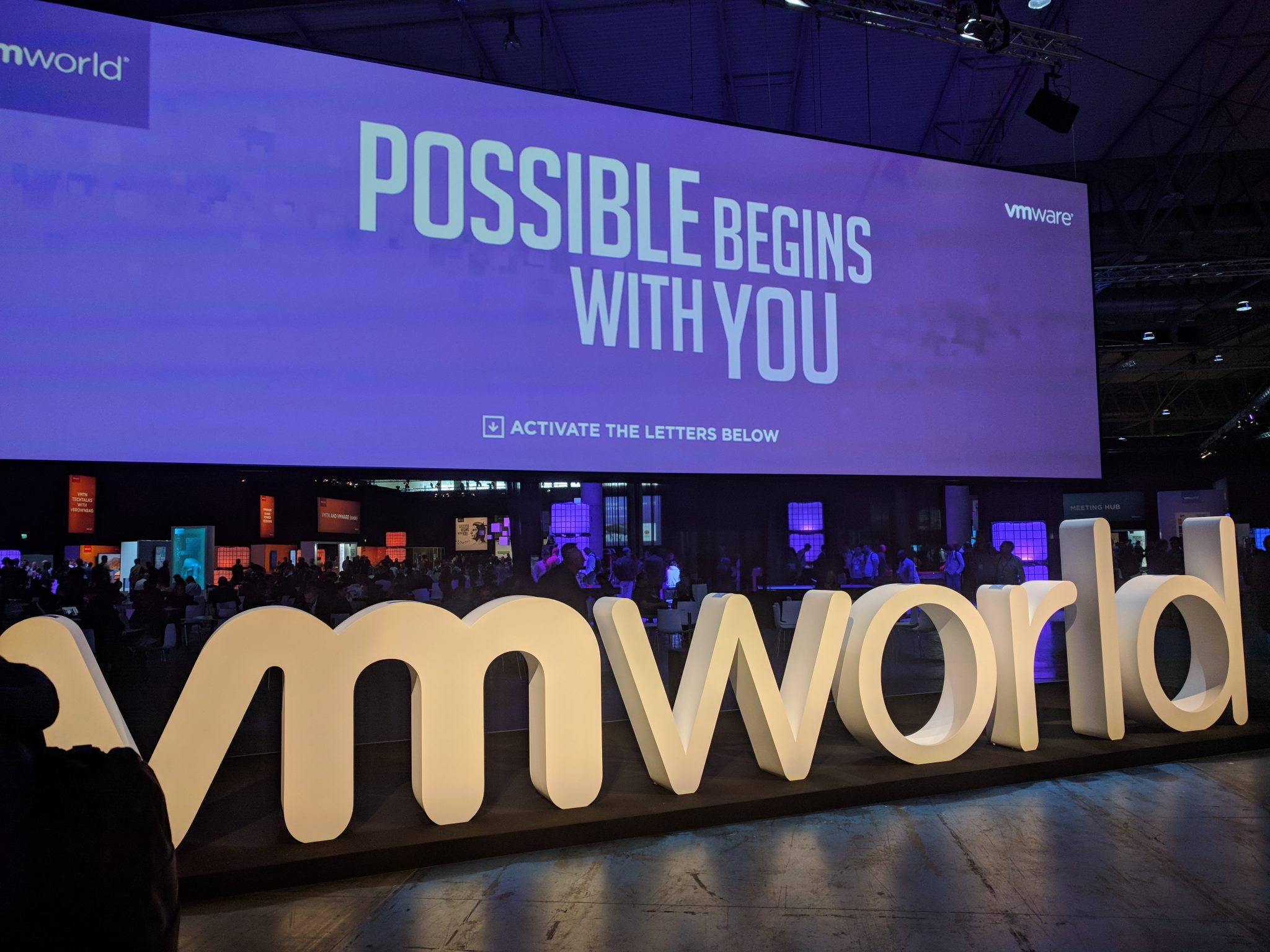 VMworld 2018 EU - Entrance