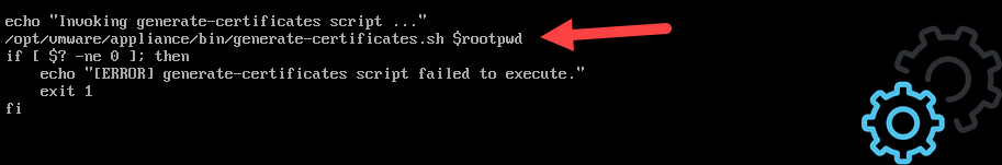 vCloud Director 9.7 - Code Firstboot