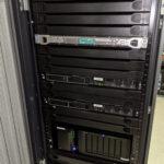 HPE ProLiant DL20 Gen9 - Inside rack